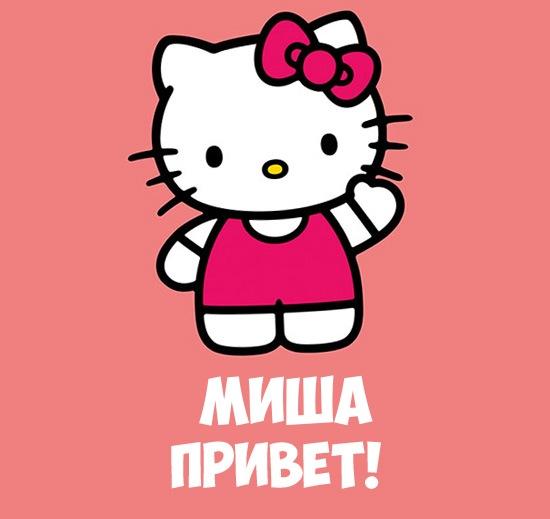 Миша, привет! картинка